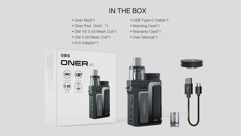 OBS Oner Kit Package