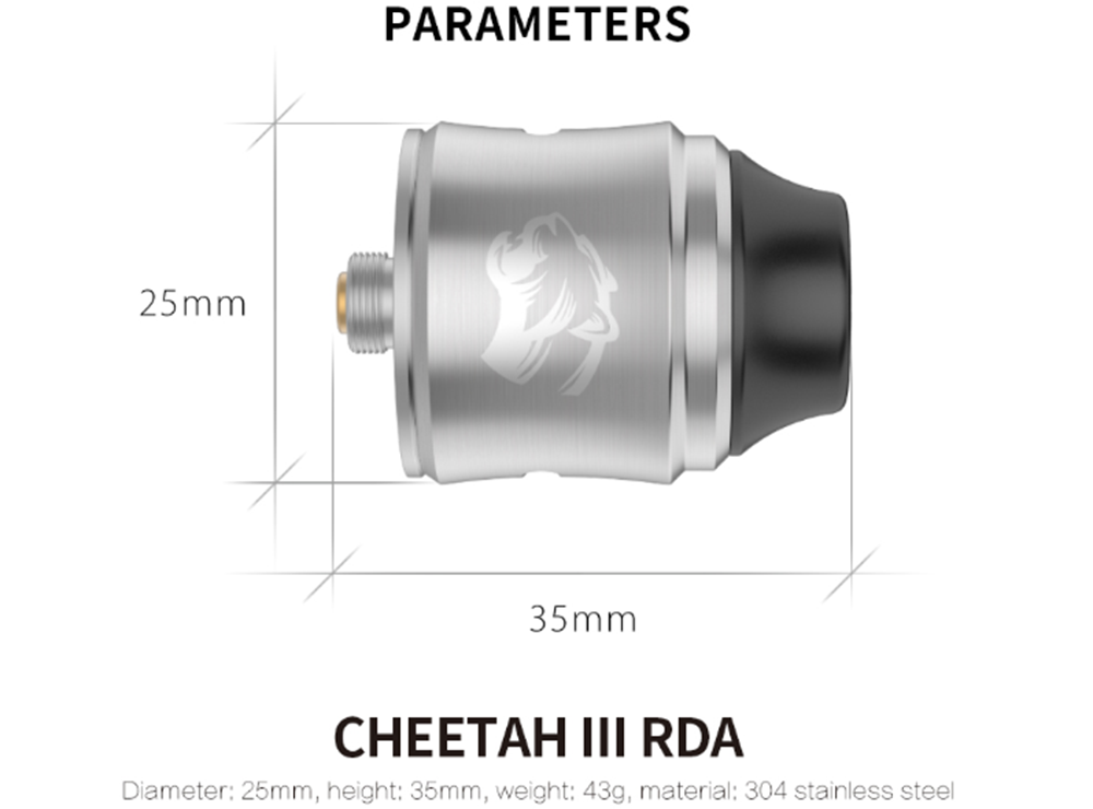 OBS Cheetah 3 RDA Parameteres