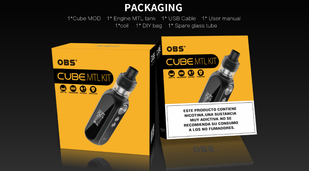 OBS Cube MTL Kit Package