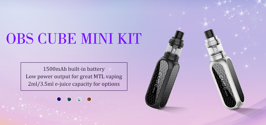 OBS Cube Mini Kit Banner