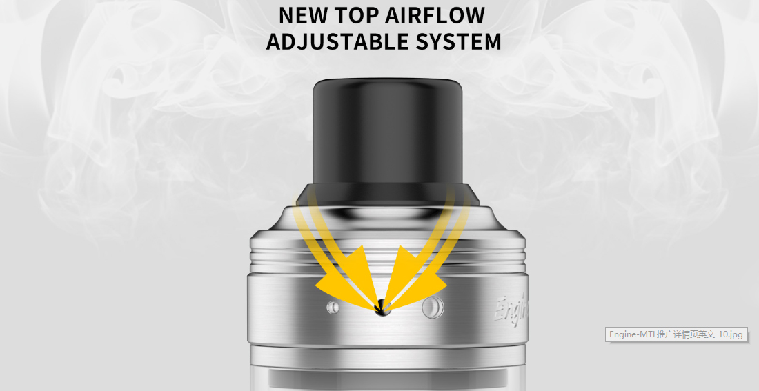 OBS Engine MTL RTA Top Airflow