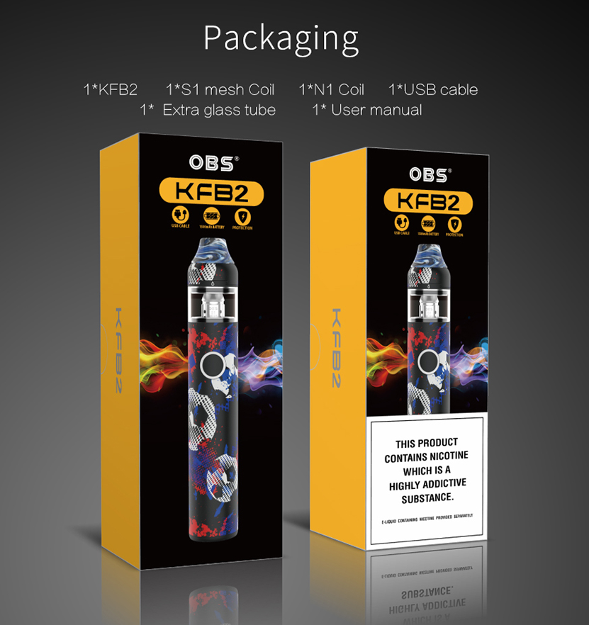 OBS KFB 2 AIO Starter Kit Package