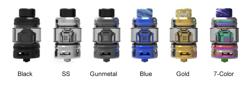 OFRF Conical Mesh Sub Ohm Tank Colors