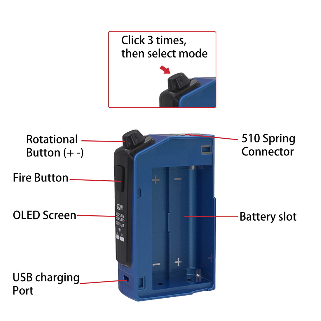 OUMIER Flash VT-1 Mod System