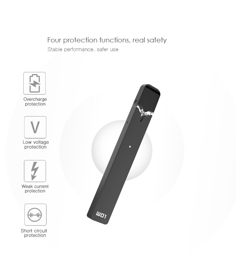 OVNS W01 Pod Vape Kit Features 4