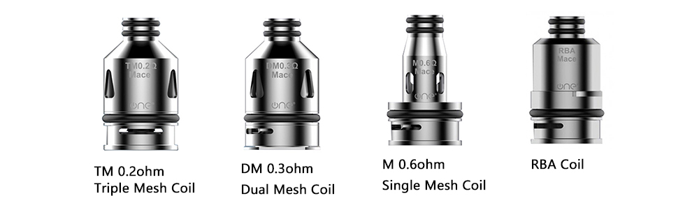 OneVape Mace Replacement Coil 4 types