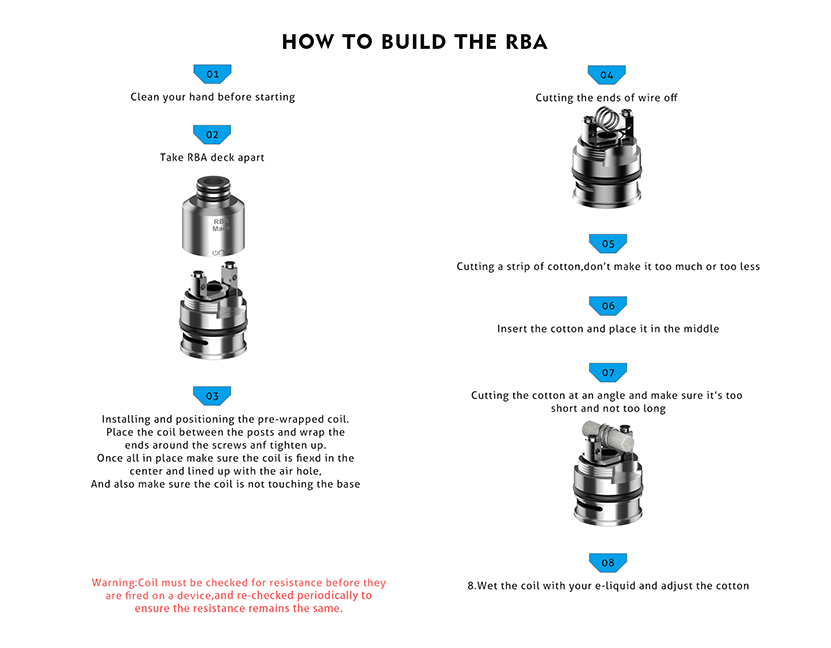 Mace Coil How to build the RBA