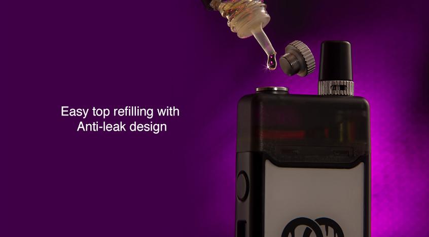 Orchid IQS Vape Kit Top filling