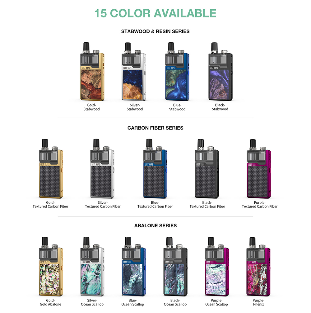 Orion Plus DNA Pod Kit All colors