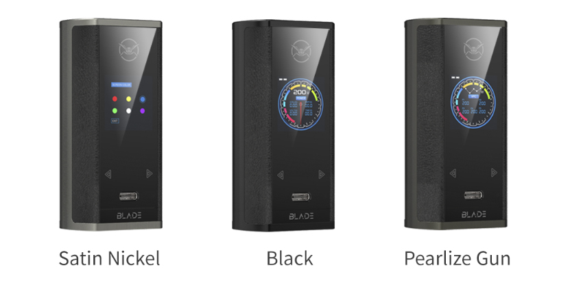 Oumier Blade 200W box mod description