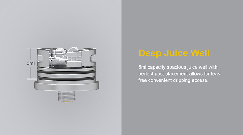 Oumier Wasp Nano S Rebuildable Dripping Atomizer Juice Well