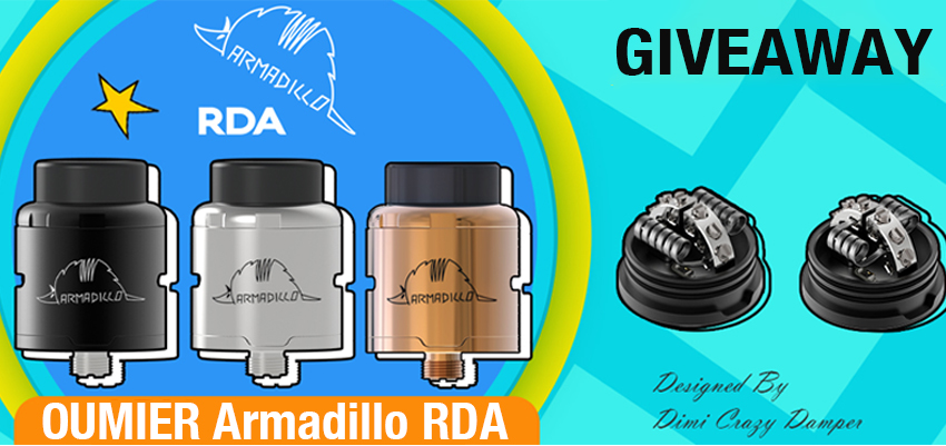 Oumier Armadillo RDA Giveaway