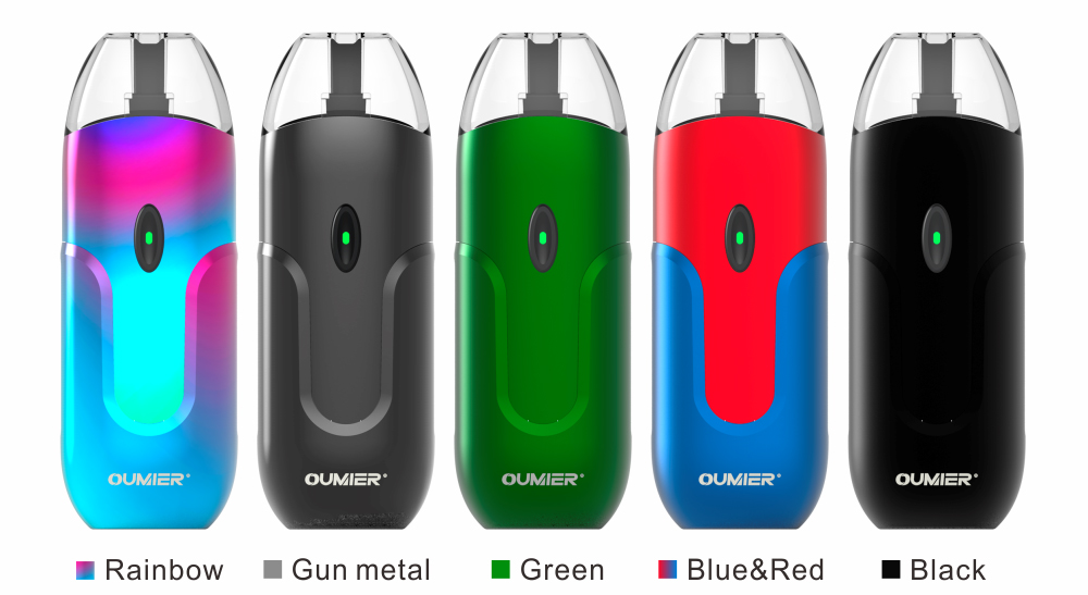 Oumier O1 Pod Kit Colors