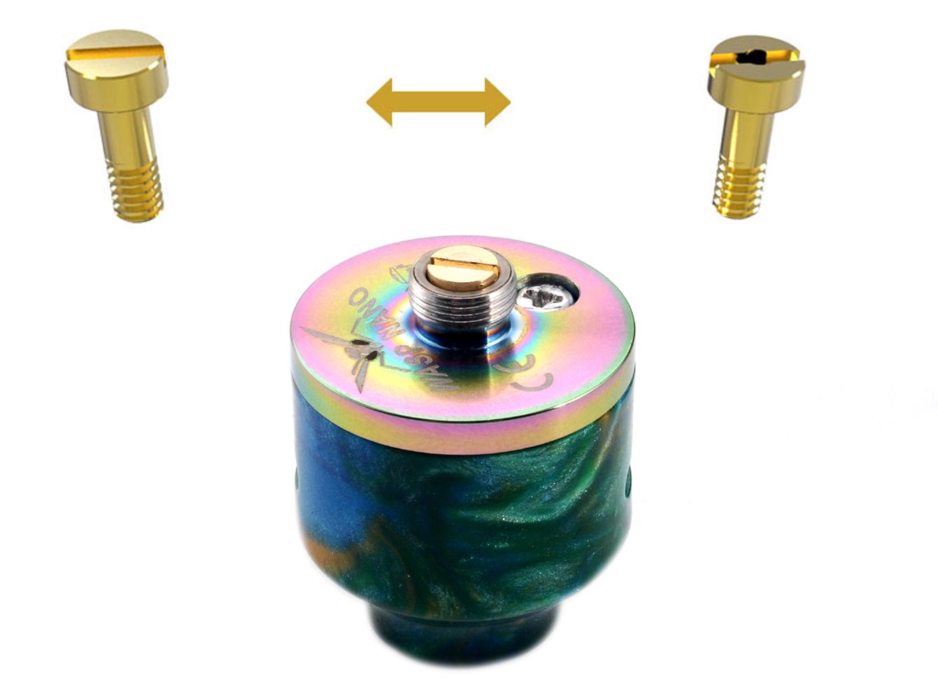 Oumier Wasp Nano RDA Rebuildable Drip Atomizer Resin Bottom Pin