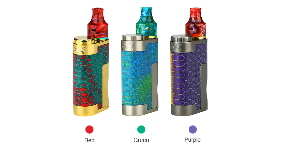 Wasp Nano Mech Squonk Kit Colors