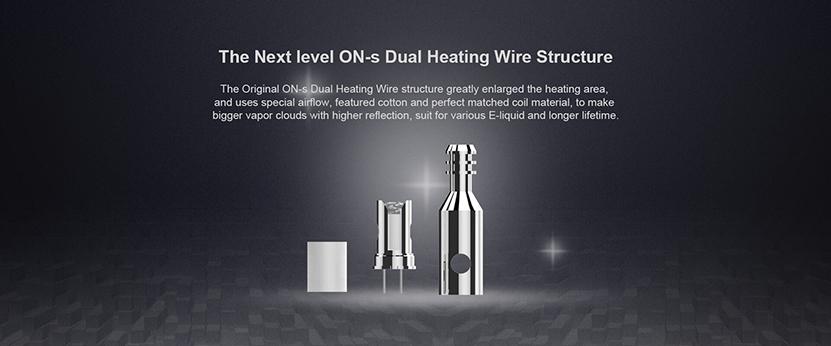 Ovns Saber 2 Vape Kit coil structure