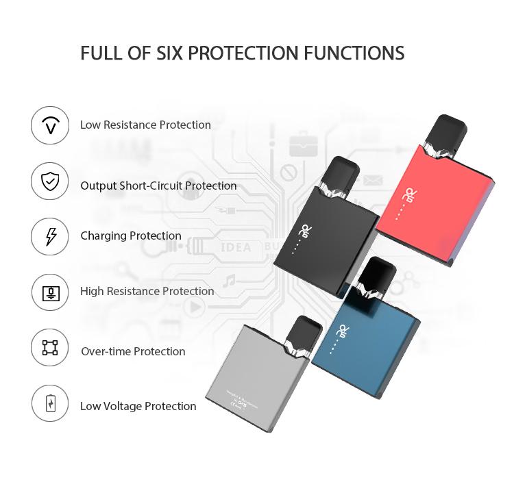 Ovns JC01 Pro Pod Kit protection