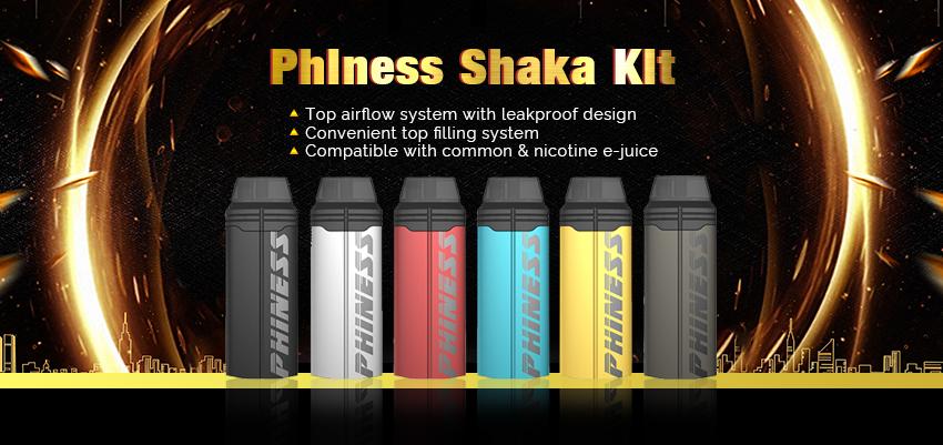 Phiness Shaka Kit Banner