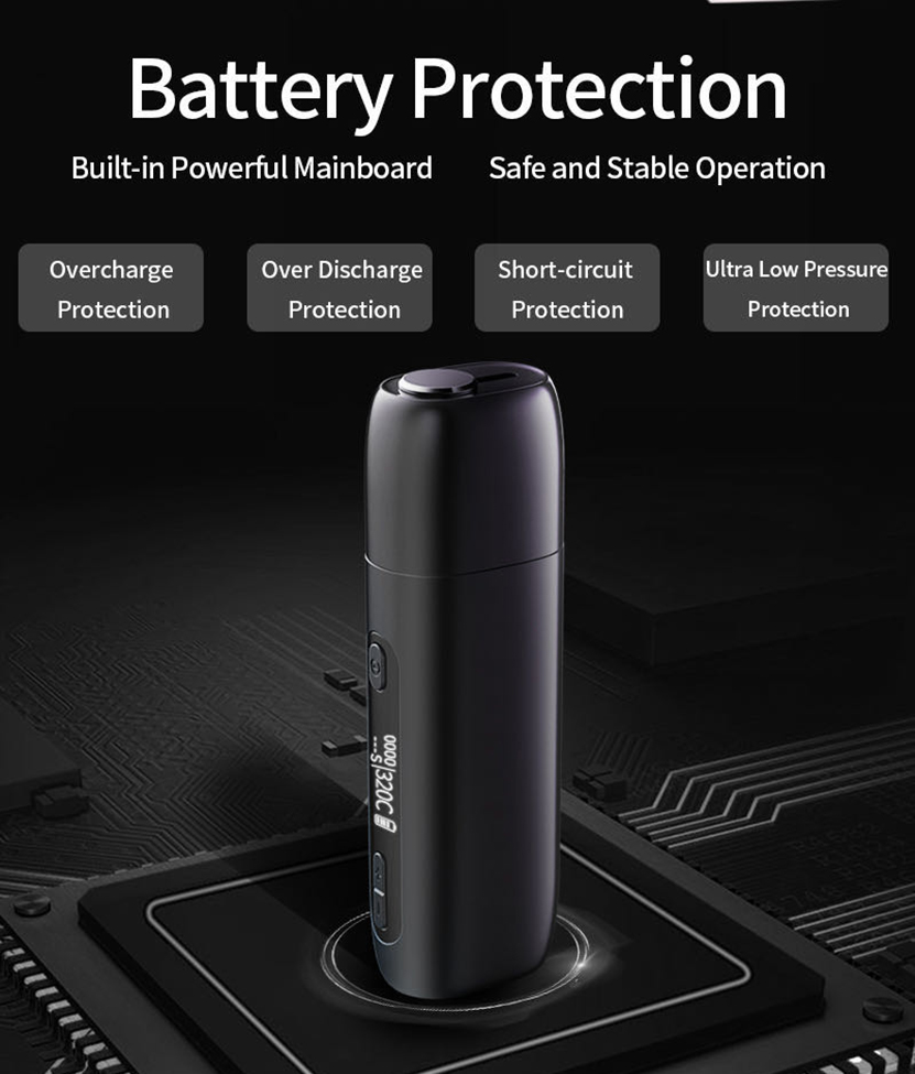 Pluscig P9 Battery Protection