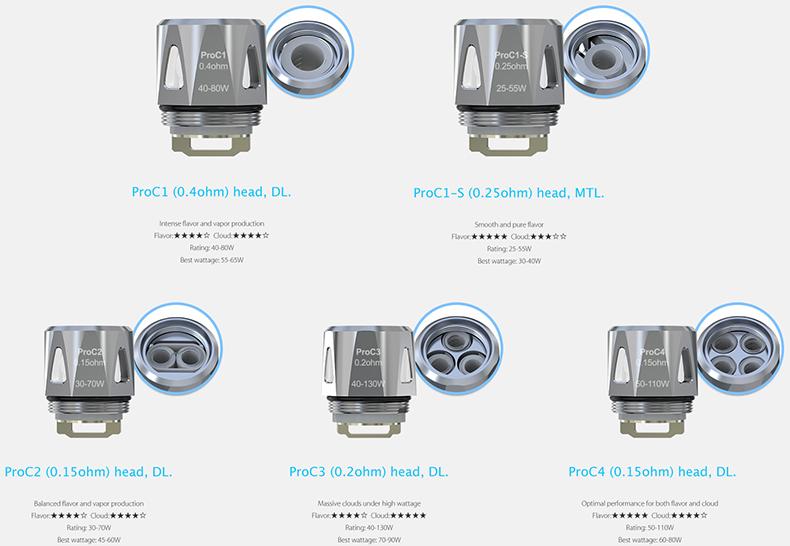 Procore ProC Series Replacement Coil