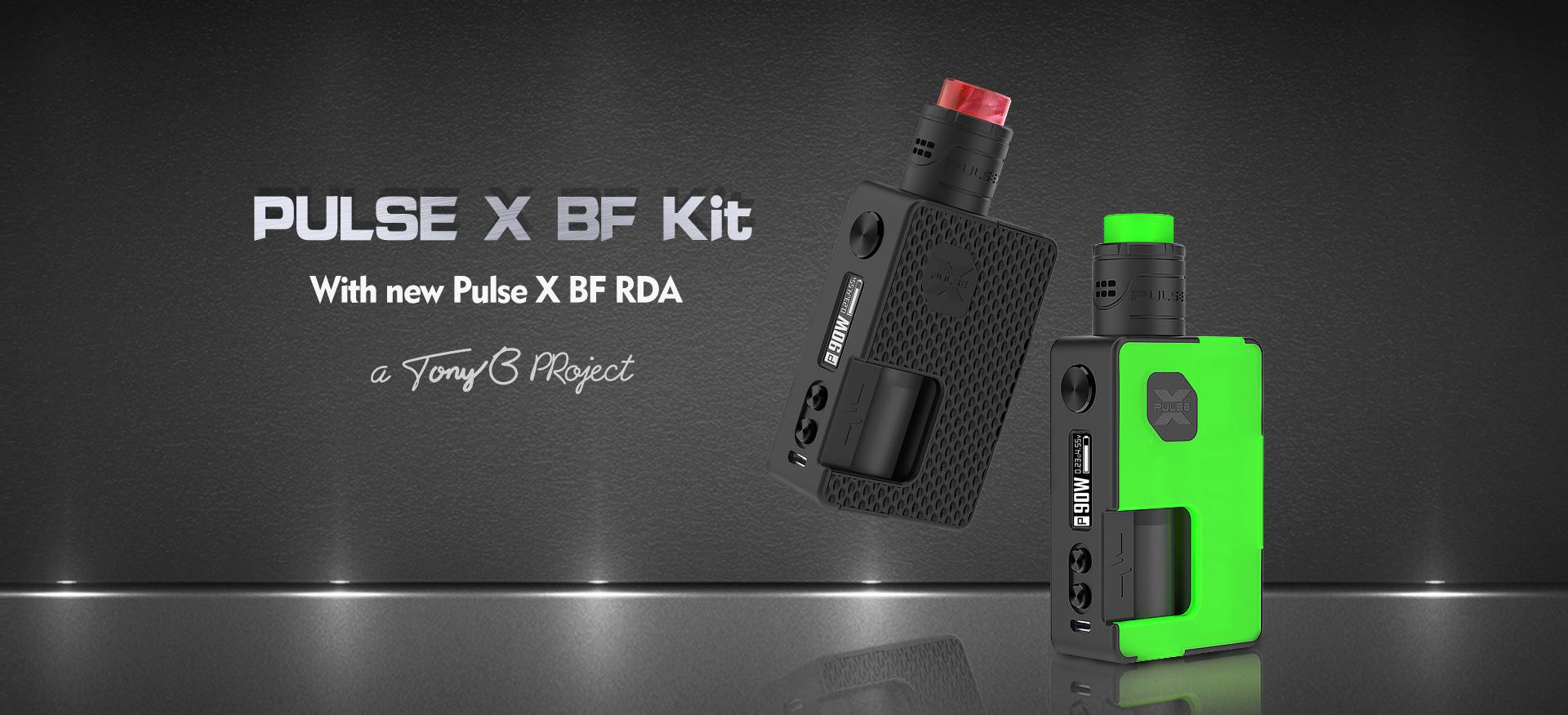 Pulse X BF Squonk Kit