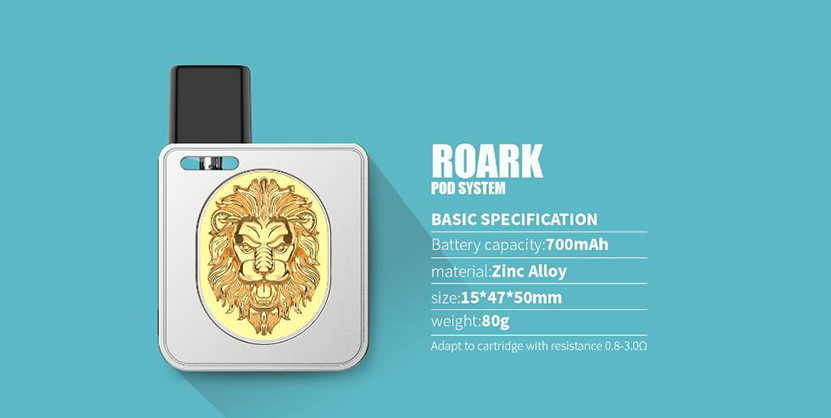 Quizz ROARK Pod Kit Feature 8
