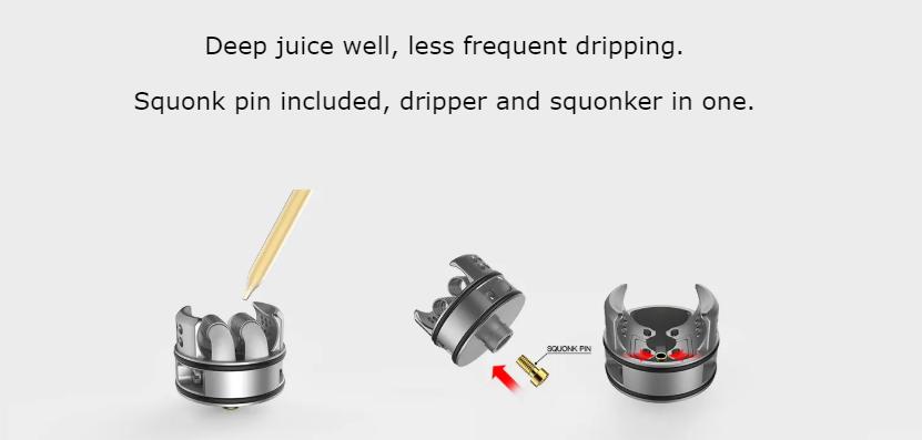 Recurve Dual RDA Atomizer Deep juice
