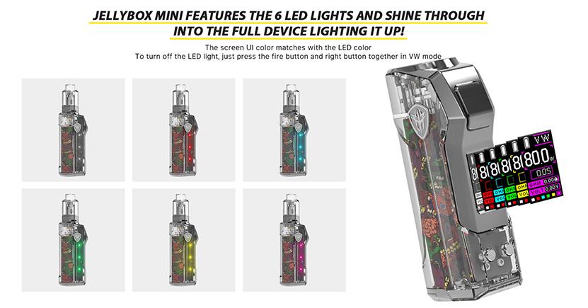 Jellybox Mini 80W Mod LED