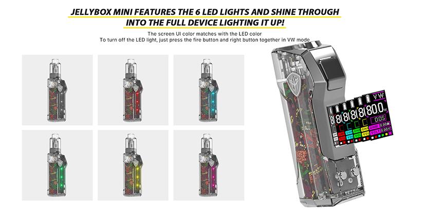 Rincoe Jellybox Mini Kit Feature 1
