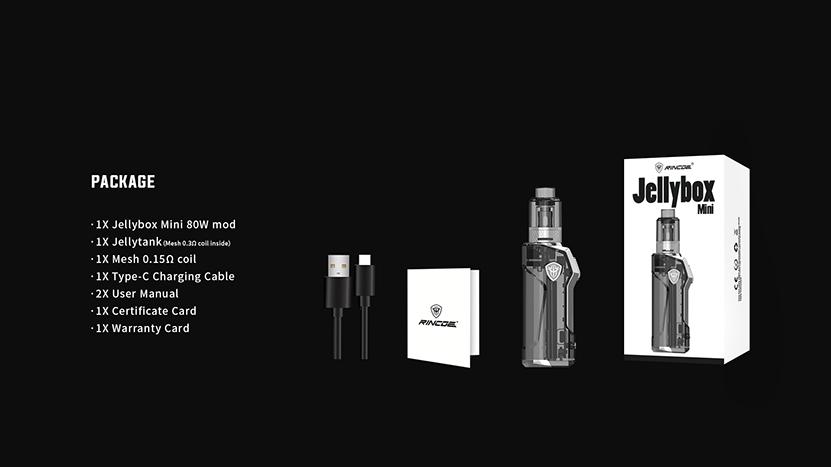 Rincoe Jellybox Mini Kit Package