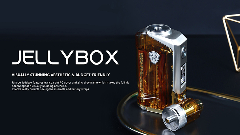 Rincoe Jellybox 228W Mod Feature 7