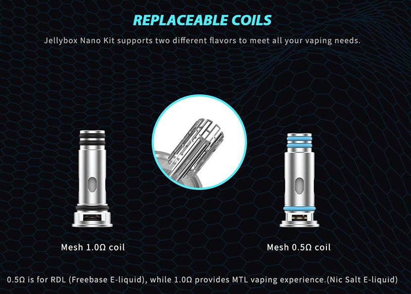 Rincoe Jellybox Nano Kit Coil