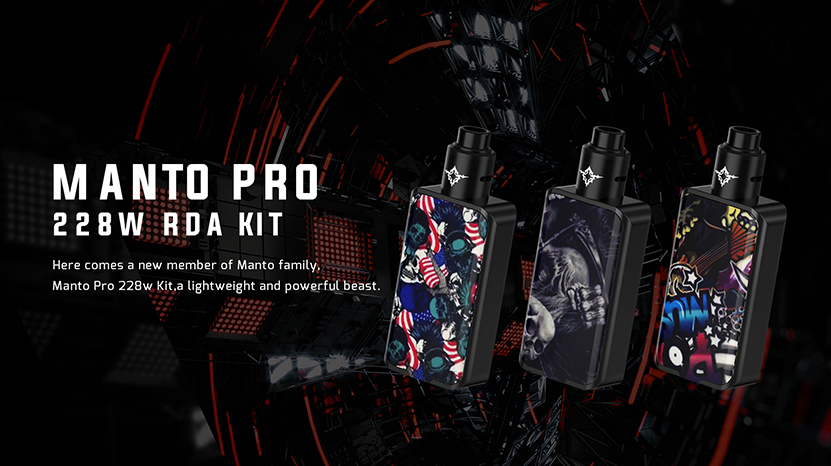 Rincoe Manto Pro 228W RDA Kit Feature 8