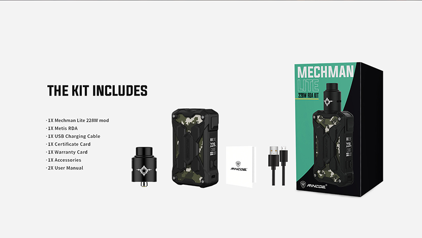 Mechman Lite 228W Kit Package