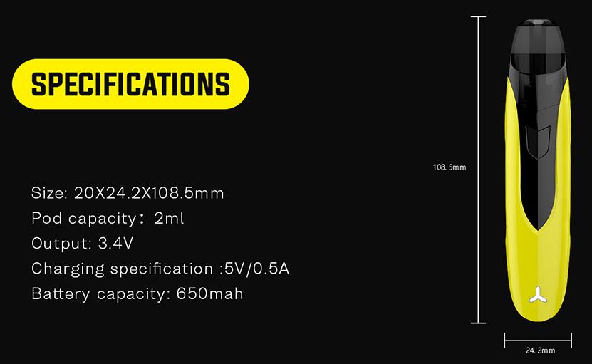 Rincoe Ceto SE Pod Kit Features 07