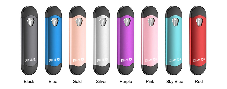 SMOD 520 CBD Kit Colors
