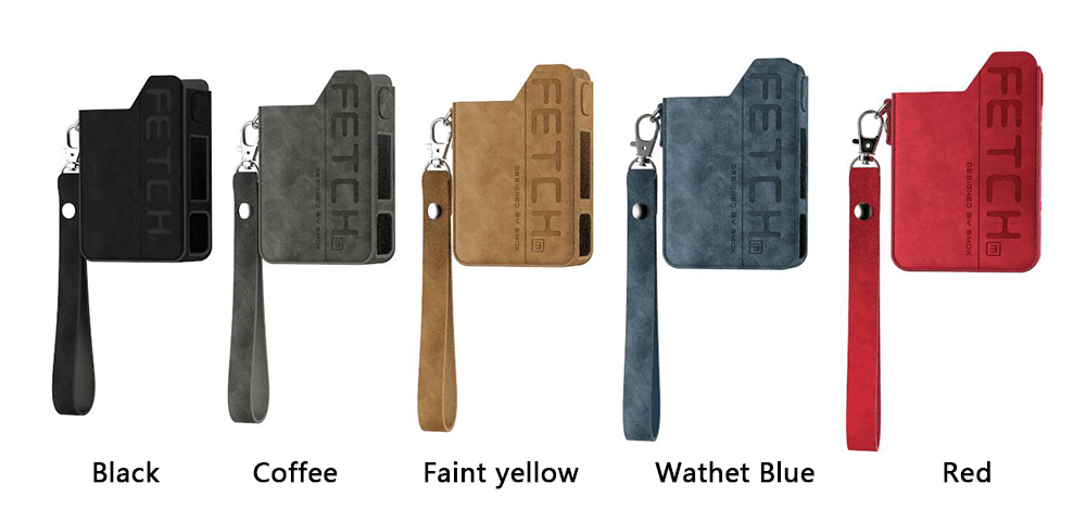 SMOK Fetch Leather Case Colors