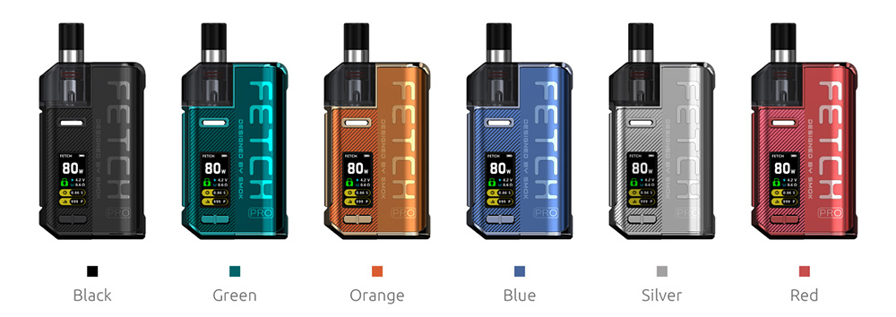 SMOK Fetch Pro Vape Kit Colors