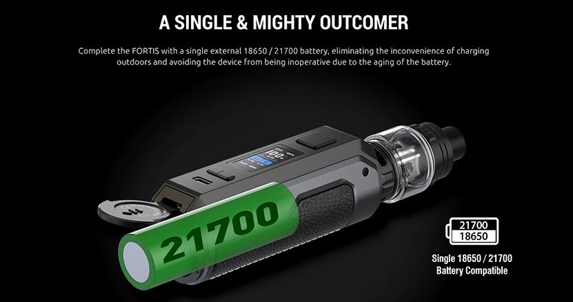 SMOK Fortis Kit battery