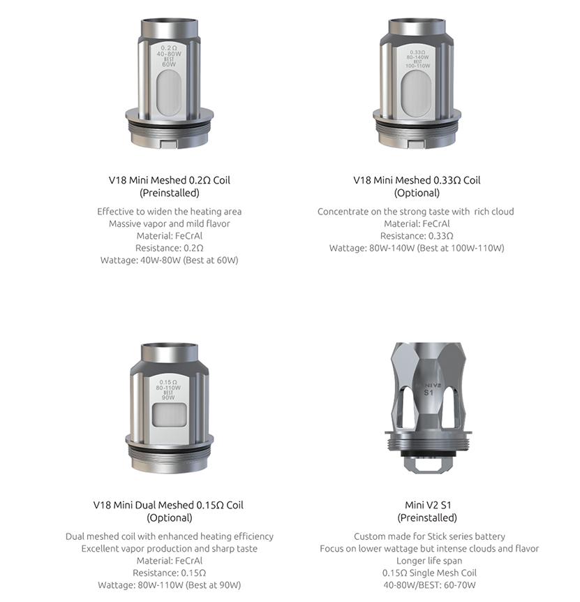 SMOK Fortis Kit coil2