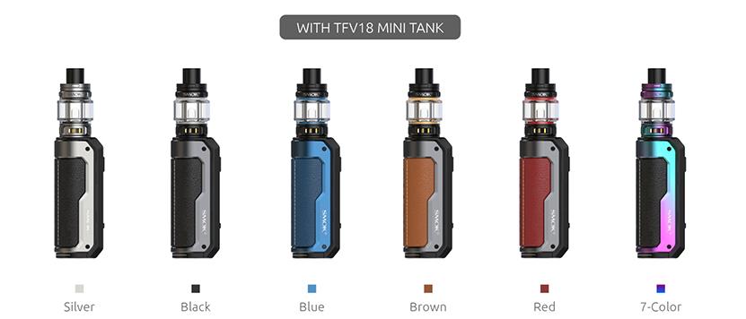 SMOK Fortis Kit colors