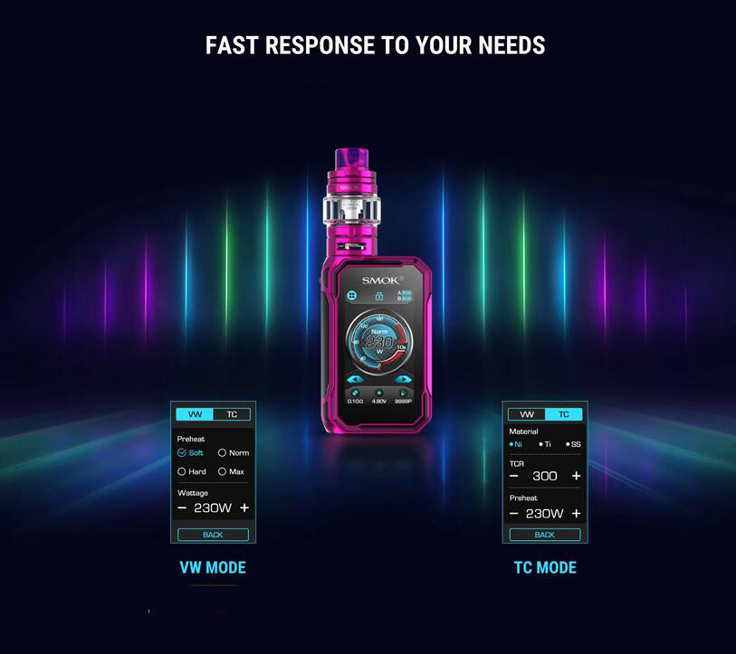SMOK G-PRIV 3 Kit Features 23