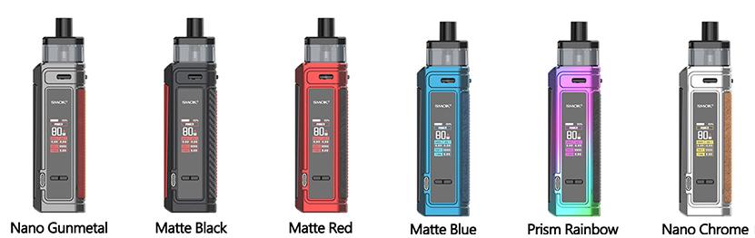 SMOK G-PRIV Pro Pod Kit colors