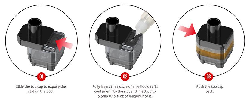 SMOK G-PRIV Pro Pod Kit feature11