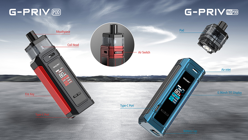 SMOK G-PRIV Pro Pod Kit feature3