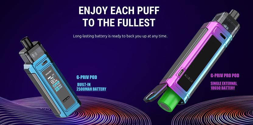 SMOK G-PRIV Pro Pod Kit feature7