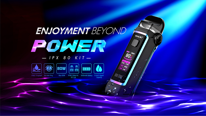 SMOK IPX 80 Kit Feature 7