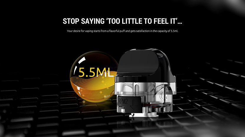 SMOK IPX 80 Pod Cartridge Feature 1