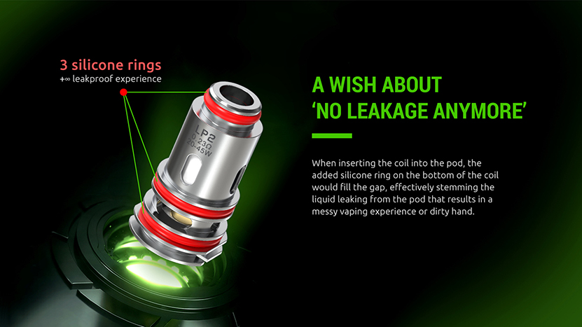 SMOK LP2 Coil 3 silicone rings