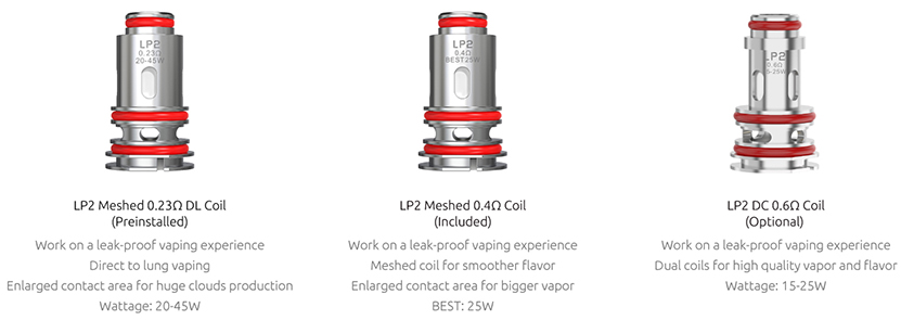 SMOK RPM 4 Coil Features